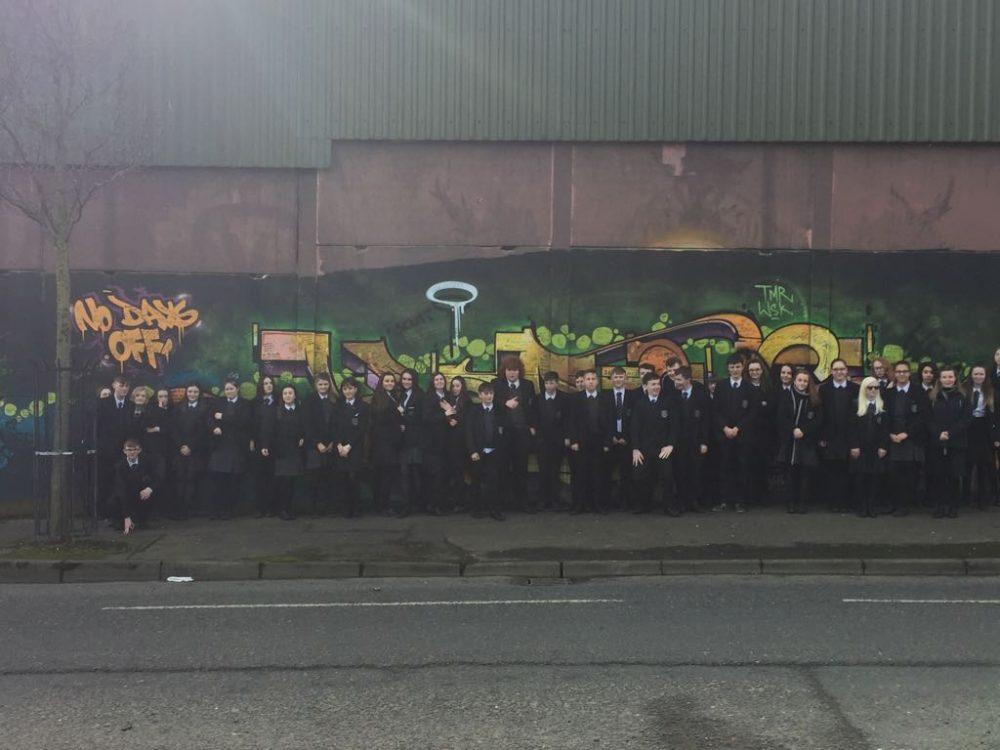 Year 10 Belfast Murals Trip